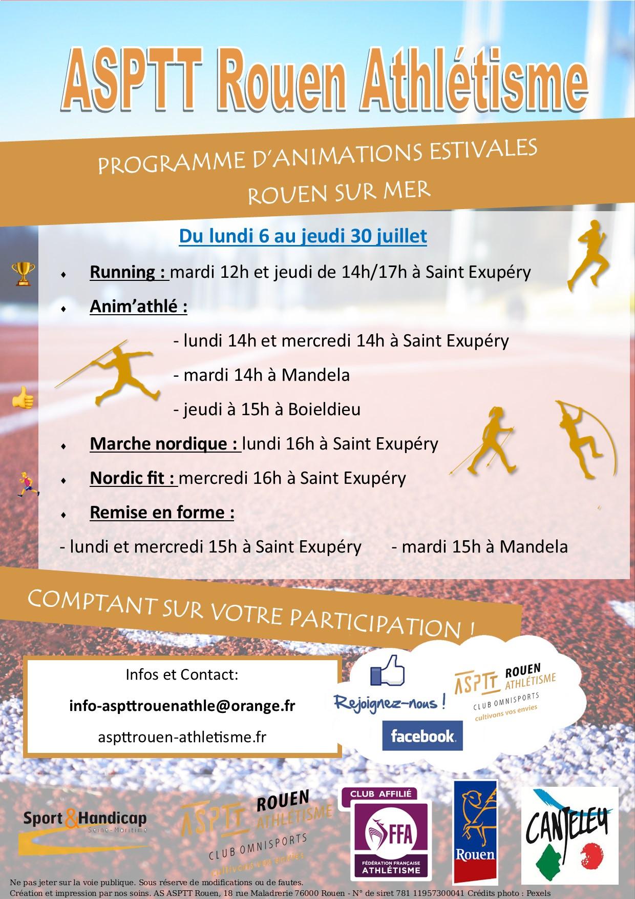 Rouen sur Mer : Demandez le programme !