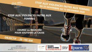 BOUGEZ VOUS AVEC NOUS        STOP AUX VIOLENCES FAITES AU FEMMES